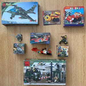 Boys Bundle Lot of Unbranded Lego Building Blocks
